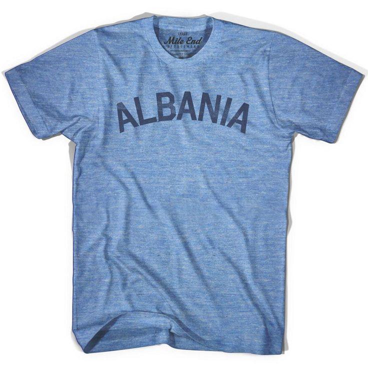 Albania City Vintage T-shirt