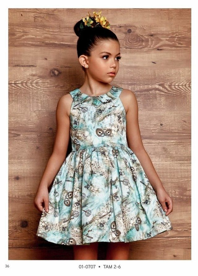 3f225e2ad3 Vestido Infantil Diforini Moda Infanto Juvenil 010766 nias