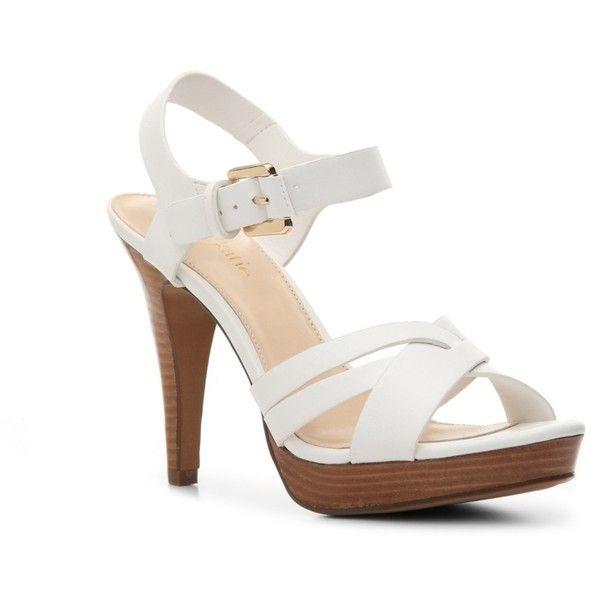 White Kelly Ladies Katie Ophelia Sandal