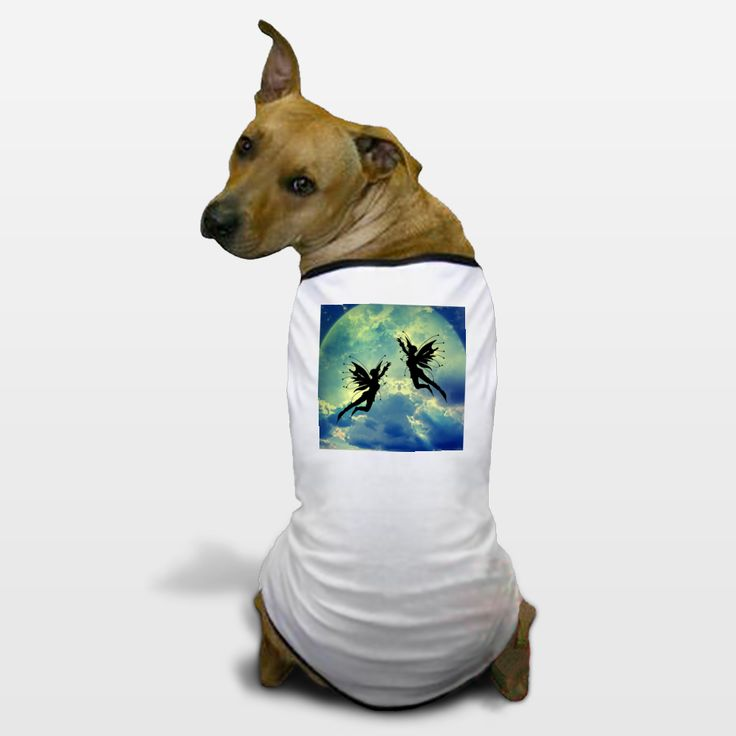 Shop for unique nursery art like the Moon Fairies Dog T-Shirts by haroulita on BoomBoomPrints today!  Customize colors, style and design to make the artwork in your baby's room their own!