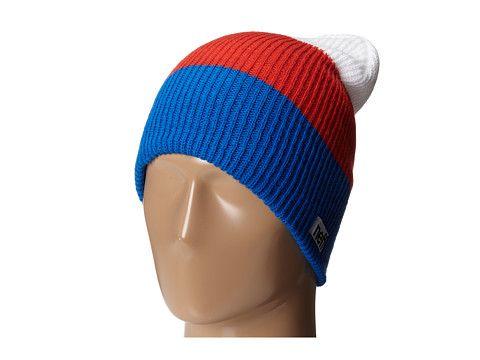 Neff Trio Beanie Blue/Red/White - Zappos.com $18.00