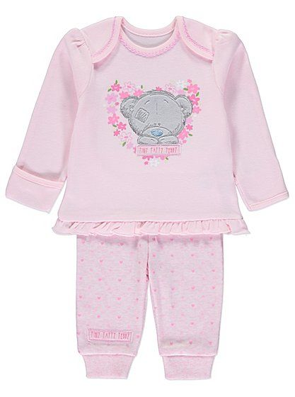 Tatty Teddy Printed Pyjamas, read reviews and buy online at George at ASDA. Shop from our latest range in Baby. They'll be dreaming in no time with this love...