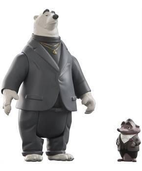 ToyHo.com - Disney Zootopia Character 2-Pack Mr.Big And Koslov Figures