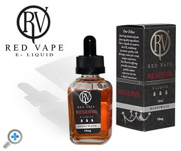 Honeywood Reserva range Red Vape electronic cigarette e-liquid made with natural ingredients 100% AMAZING.