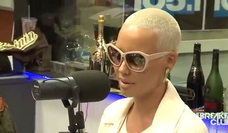 Amber Rose Interview at The Breakfast Club, Talks Wiz Khalifa and More with DJ Envy, Angela Yee and Charlamagne Tha God.