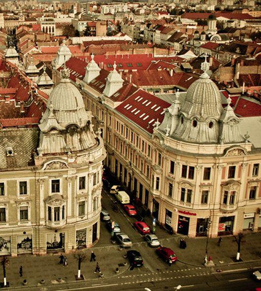 """""""The Mirror Street"""", Kolozsvár, Transylvania."""