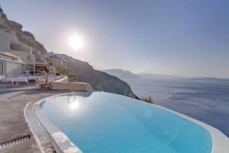 Mystique luxury collection hotel Santorini