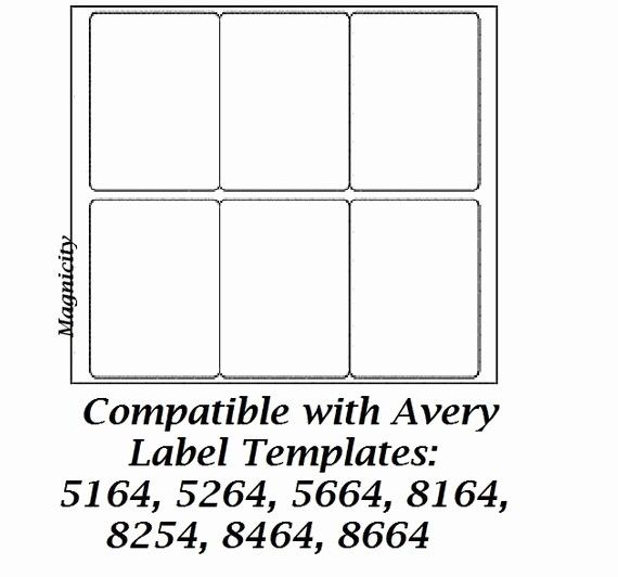 Avery 5164 Shipping Label Template Best Of 60 3 5 X 4 Labels 10 Sheets Shipping Labels By Label Templates Avery Shipping Labels Word Template
