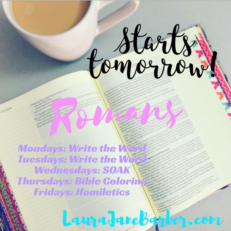 I'm so excited to begin this sixteen week in-depth study of the book of Romans! Be sure to share on Instagram using the hashtags #WaterIntoWineFaith and #GoodMorningGirls. Here's…