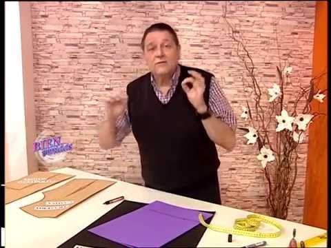 Explica el MOLDE CUELLO CAMISERO    Hermenegildo Zampar - Bienvenidas - TV  Explica el Molde del Cuello Cami...