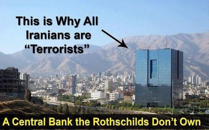 The Rothschild family is slowly but surely having their Central banks established in every country of this world, giving them incredible amount of wealth and power. In the year of 2000 there were seven countries without a Rothschild owned or controlled Central Bank: Afghanistan Iraq Sudan Libya Cuba North Korea Iran It is not a coincidence that these country, which are listed above were and are still being under attack by the western media, since one of the main reasons these countries have…