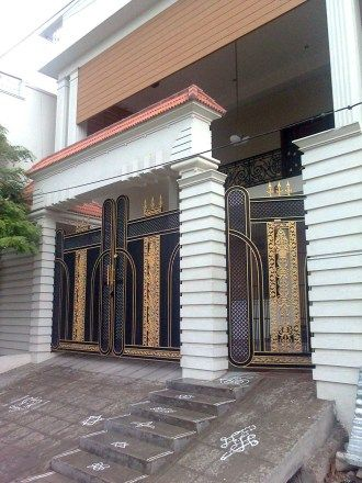 Wonderful Incredible Main Gate Design For Home New Models Photos 2018 And Main Gate  Pillars For Residential Homes