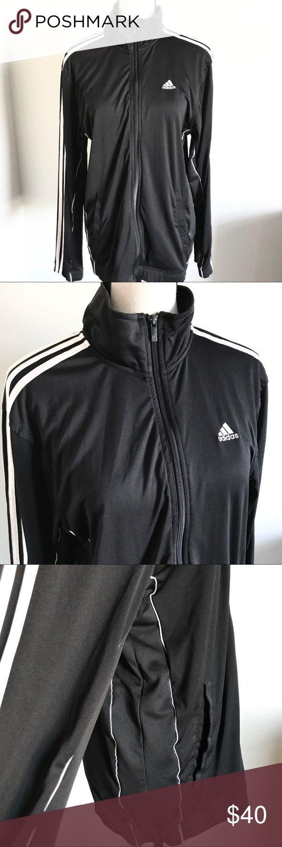 Adidas jacket Clima365 classic adidas jacket ~ men's small fits like a women large ~ EUC ~ no snags adidas Jackets & Coats