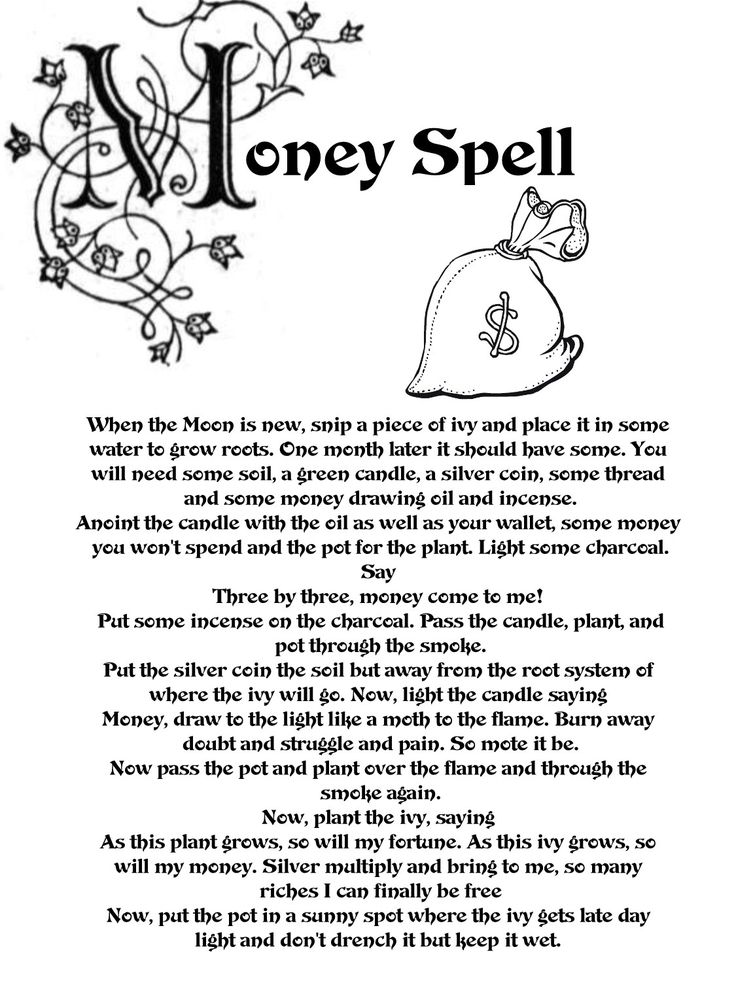 Money Spell