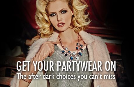 Let's party! #BSB_FW14 #partywear