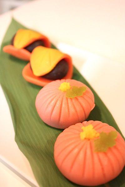 秋の練りきり - Bon Appetit