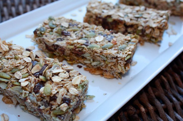 Oat, Seed and Chocolate Granola Bars - For A Digestive Peace of Mind—Kate Scarlata RDN
