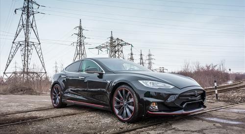 #Motori: #Tesla Model S by Larte Design da  (link: http://ift.tt/1rFhxiL )