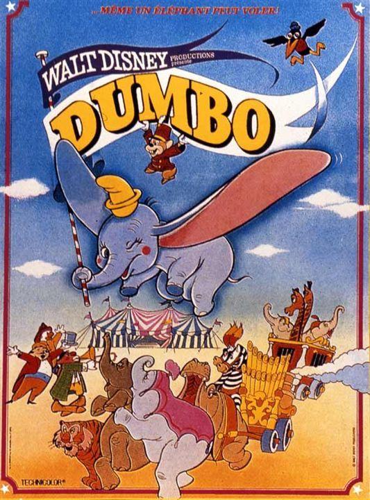 Dumbo Affiche Dumbo Dessin Anime Dessins Animes Disney