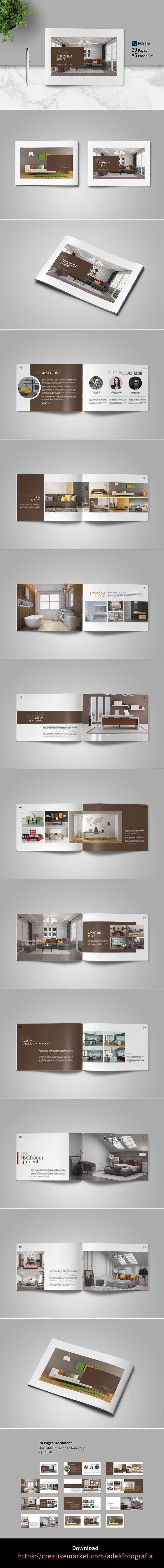 Interior Brochure Catalog   Interior brochures, Brochure, Simple ...