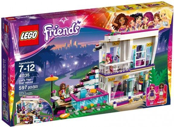 LEGO Friends 41135 La maison de la Pop Star Livi