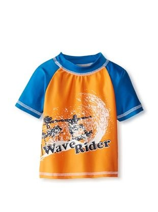56% OFF Rugged Bear Baby-Boys Infant Wave Rider Rash Guard (Orange)