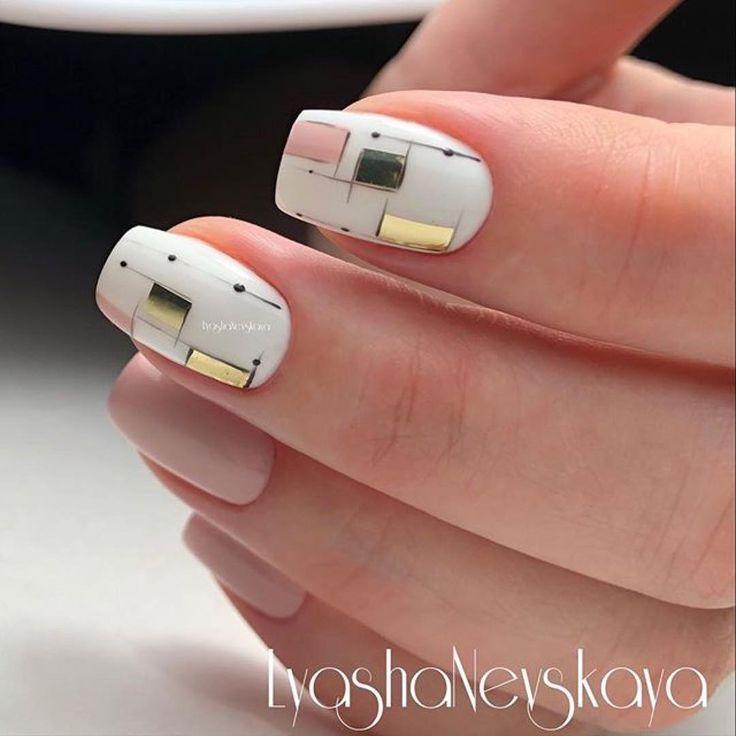 502 вподобань, 1 коментарів – Маникюр / Ногти / Мастера (@nail_art_club_) в Instagram: «Repost @lyasha_nevskaya ・・・ #nails #nailart #instagood #instanails #beautynails #nailpolish…»