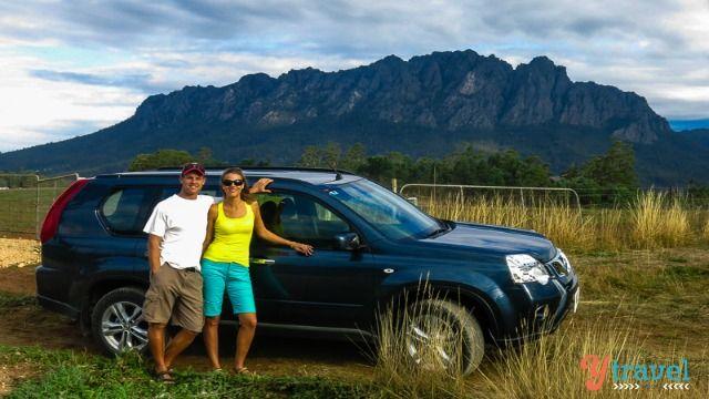 Road Trip in Tasmania, Australia