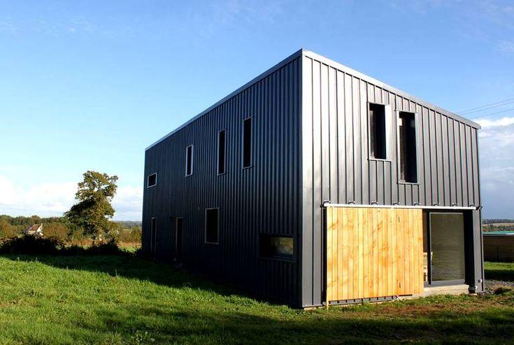 170 best images about cabanes on pinterest cabin house - Maison dans hangar metallique ...