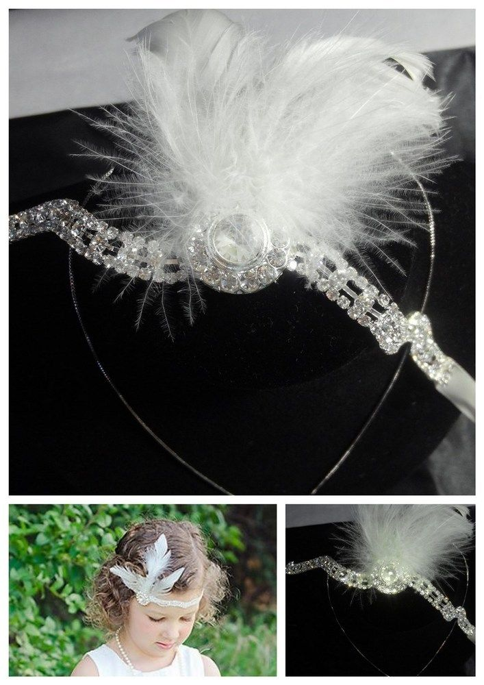 Girls Gatsby Headband, AU$10.00