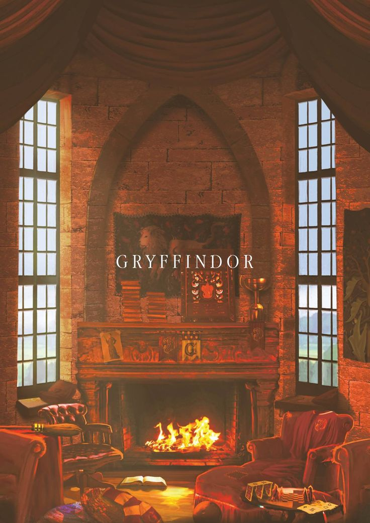 Hogwarts Common Rooms: Gryffindor #harrypotter