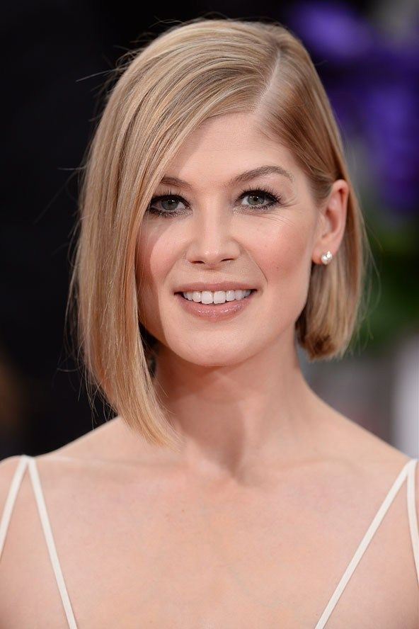 Rosamund Pike hair, if only my hair looked just like hers .