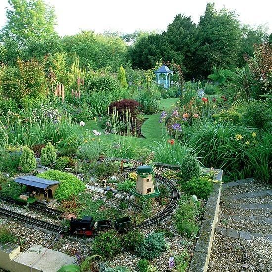 17 Best images about Garden Railways on Pinterest | Gardens ...