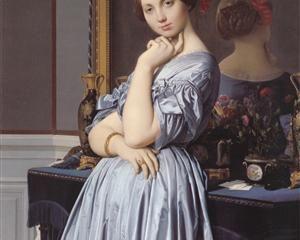 Ritratto della Contessa di Haussonville, 1845, olio su tela, The Frick Collection, New York