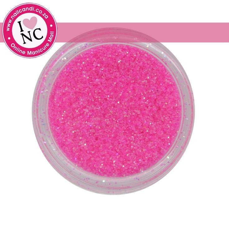 Nail art Glitter - Neon Pink