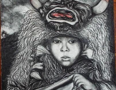"""Check out new work on my @Behance portfolio: """"Atrás da máscara"""" http://be.net/gallery/48460491/Atras-da-mascara"""