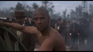 Glory 1989 - Denzel Washington as Private Silas Trip from Glory in one of the most touching scenes.