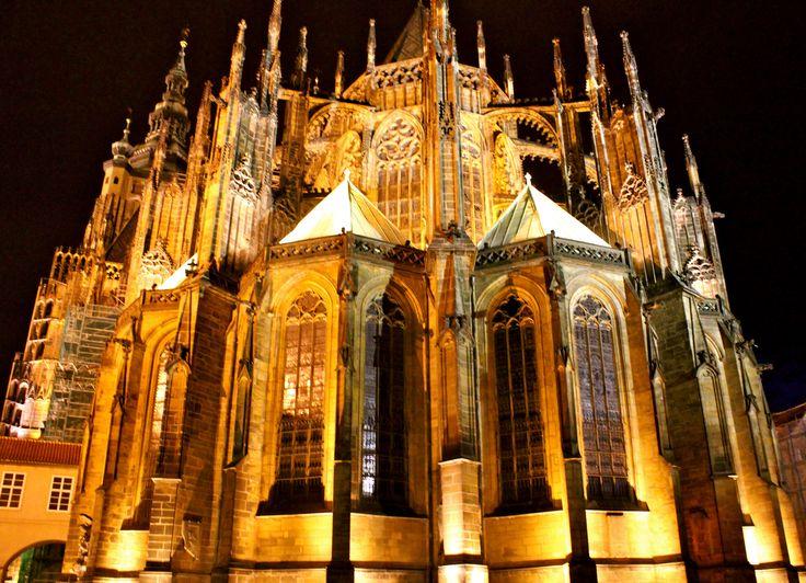 Prague, cathedral st-Vitus