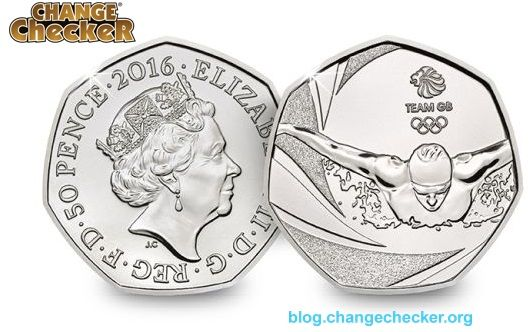 Royal Mint announces a treat for Olympic 50p Collectors.This UK 50p coin has been released to wish Team GB success in Rio this summer.