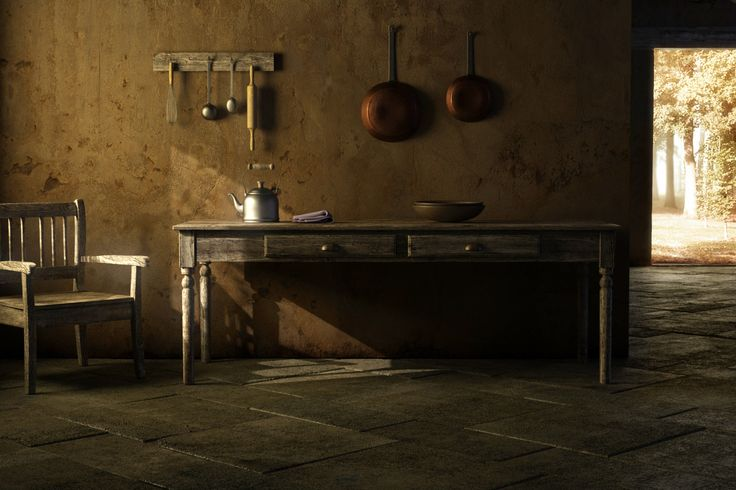 Old interior_render with Maxwell Render