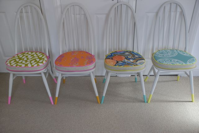 Upcycled Ercol Dining Chairs - The Consortium, Vintage Furniture and stockists of the brilliant Annie Sloan Chalk Paint