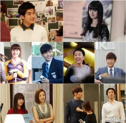 The cast of 'Heirs' are all smiles in BTS photos | http://www.allkpop.com/article/2013/11/heirs-cast-all-smiles-bts-photos