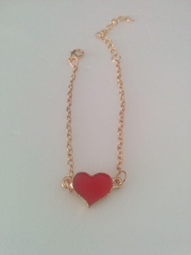 Good Plated Heart Bracelet £5.99