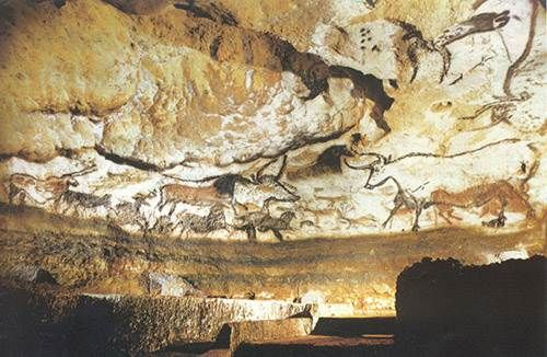 Found in South West France, Lascaux is complex of caves that are world-renowned for its Palaeolithic cave paintings that are estimated to be over 17,500 years old. Although these caves were once open to the public, they have since been closed to preserve the original artwork.