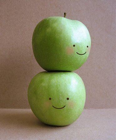 かわいいりんご