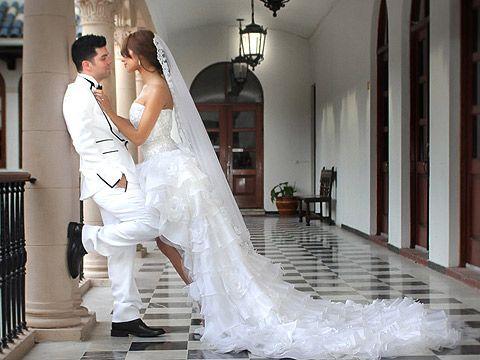 Alejandra Espinoza Vestido De Novia | portada multimedia el album de bodas de alejandra espinosa