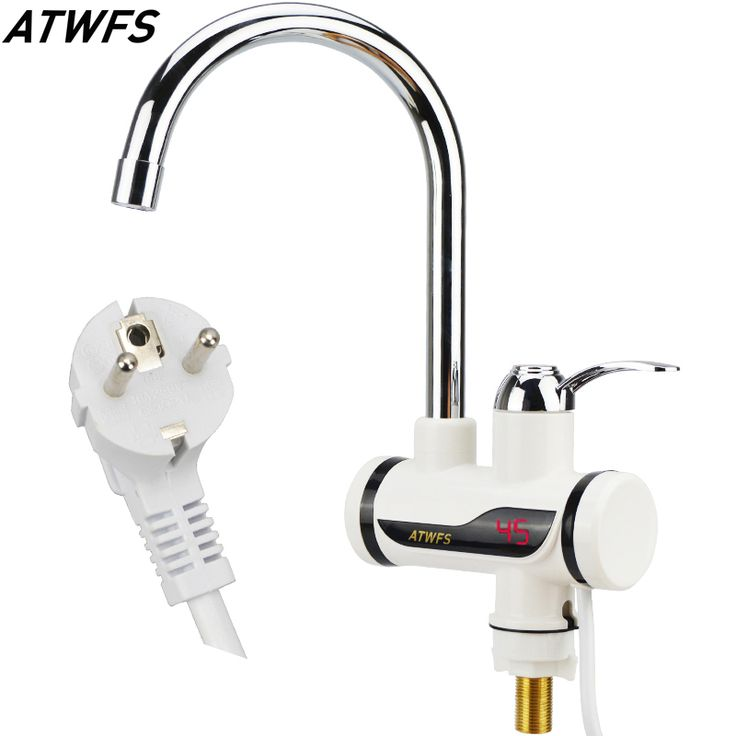 Find More Electric Water Heaters Information about Instant Tankless Water Heater Tap Instantaneous Faucet Kitchen Water Heater Crane Instant Hot Water Faucet with Digital EU Plug,High Quality thermostat electric water heater,China faucet lever Suppliers, Cheap faucet electronic from ATWFS Run Store on Aliexpress.com