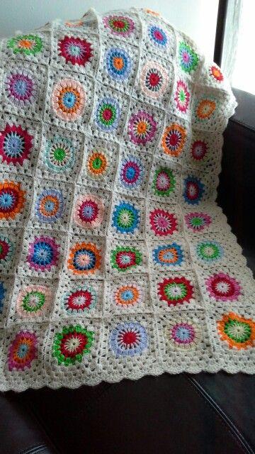 My work, baby blanket