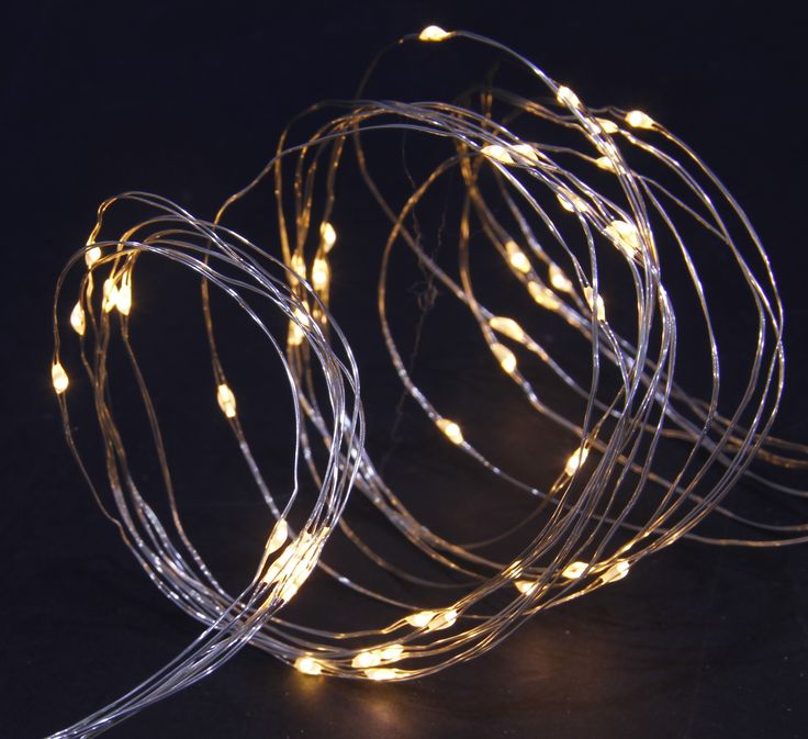 Copper Wire Lights | Solar Garden Lighting | NOMA Garden Art