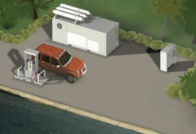GE, Chesapeake Launch CNG In A Box System